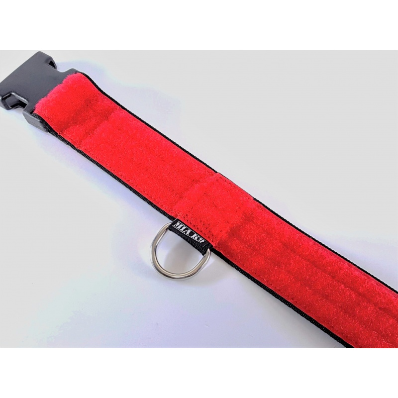 Red 40mm ID collar size L