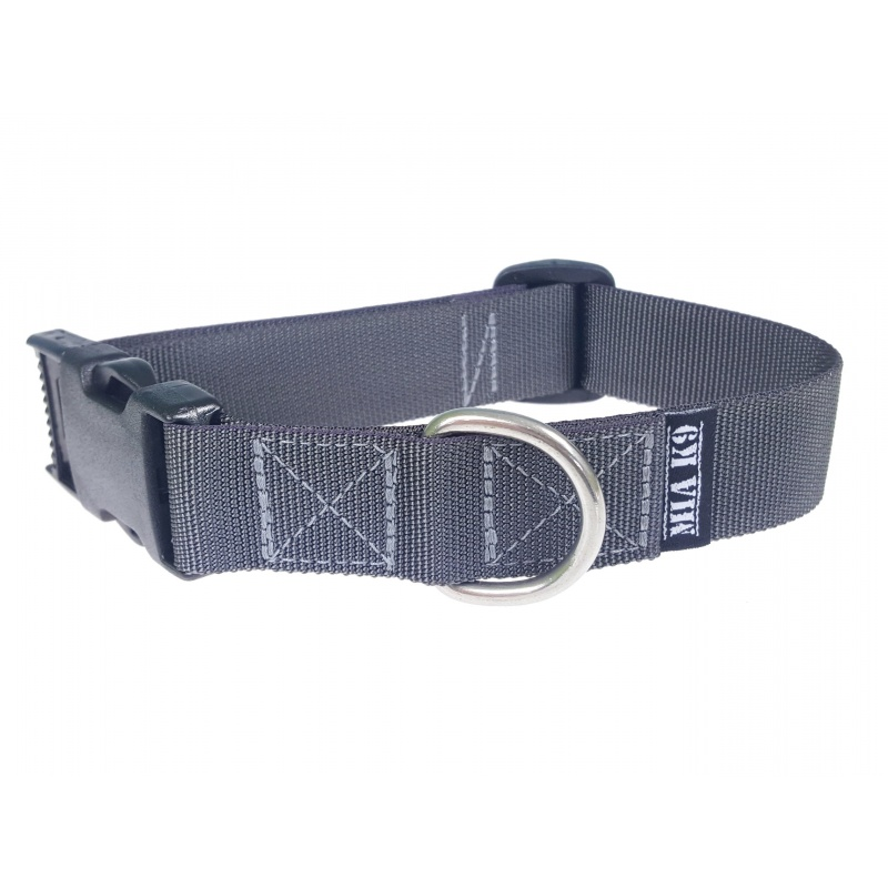 Charcoal puppy collar size M