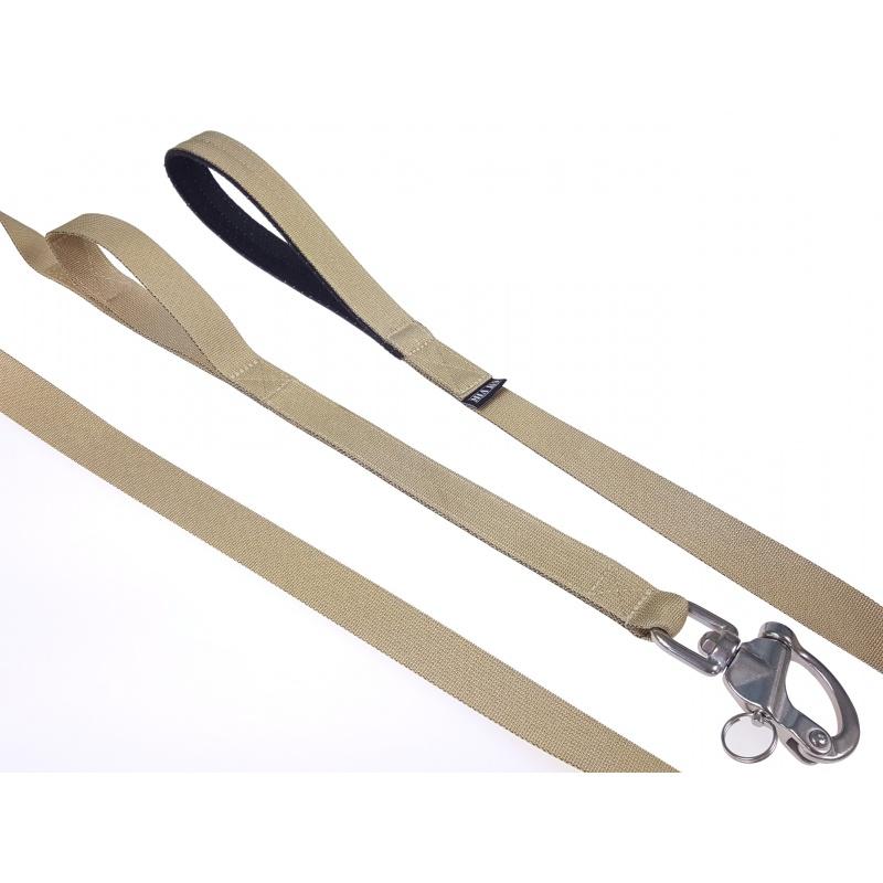 Sand leash double handle 1.65m shackle