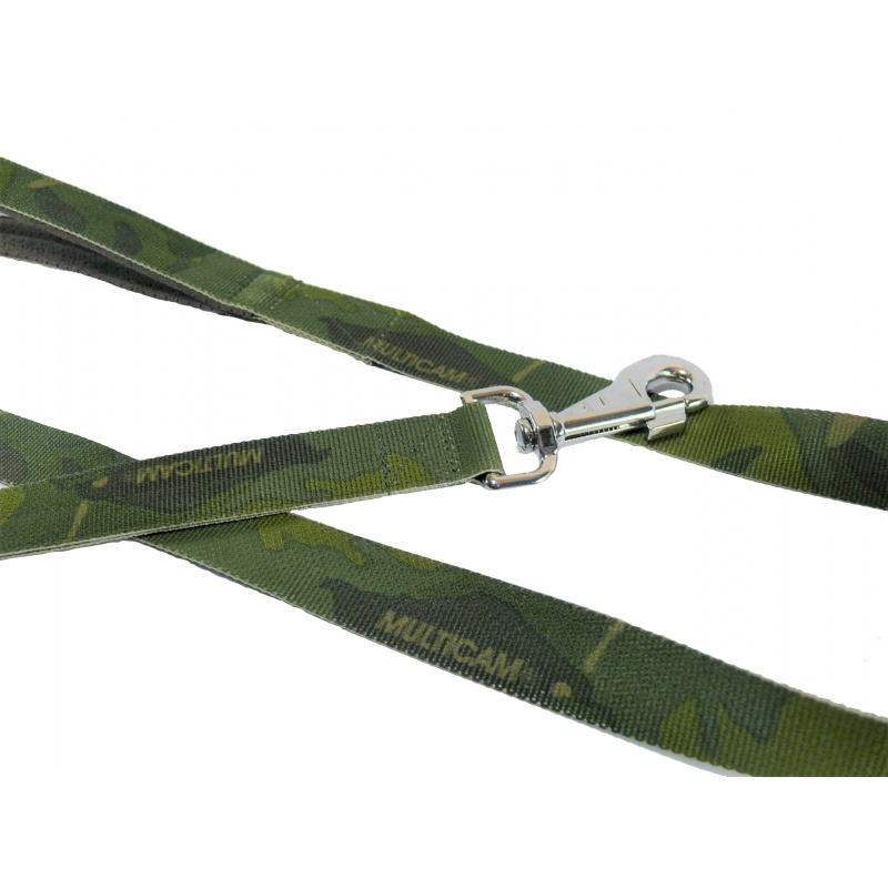 M. Tropic leash double handle 1.65m hook silver