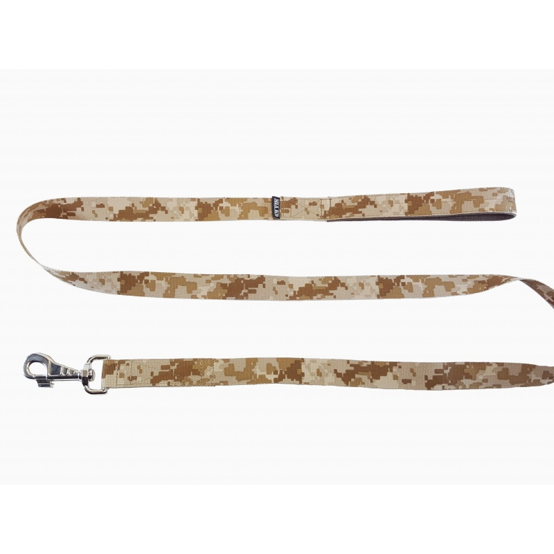 Digi Desert leash 1.65m hook silver