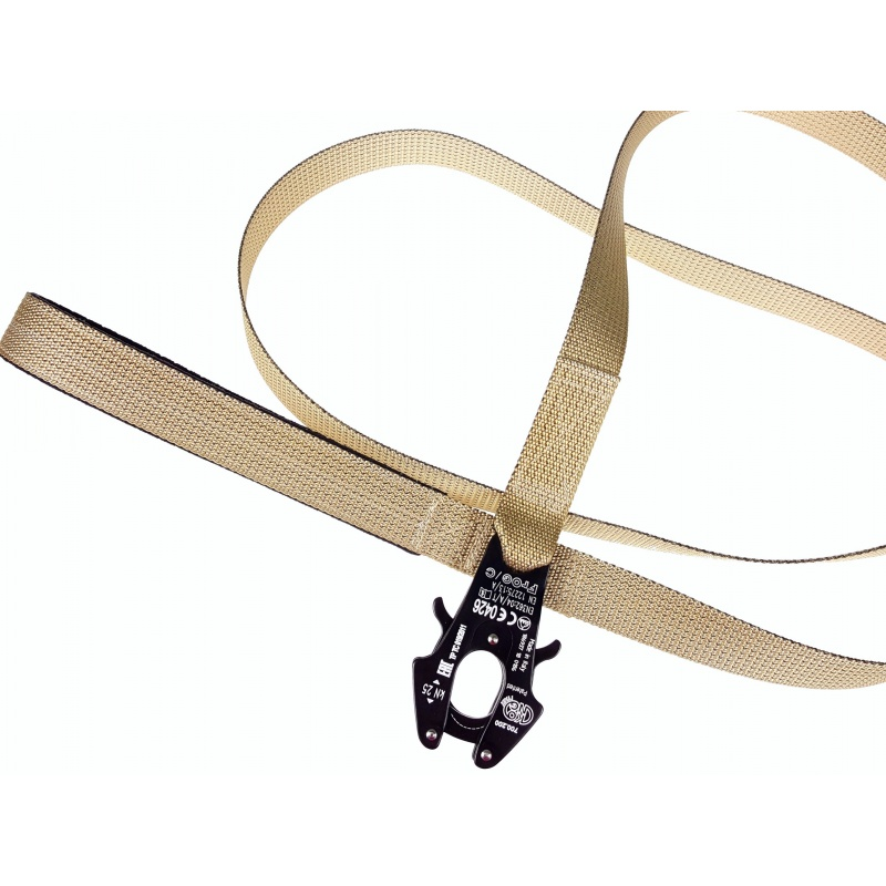 Tan 1.6mm thick tactical leash