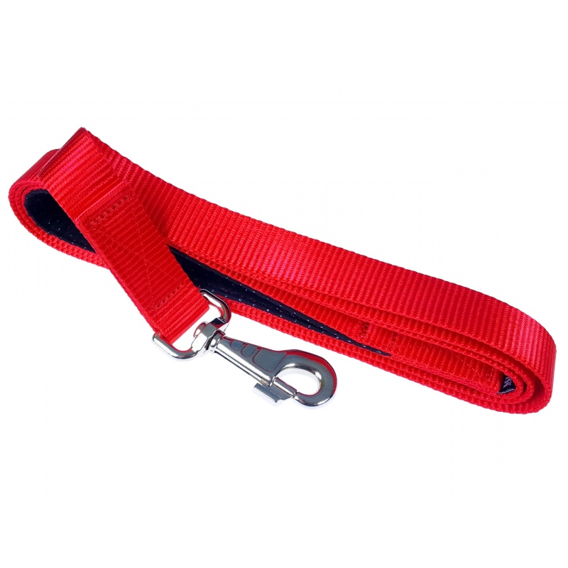 NEON RED 2mm thick leash
