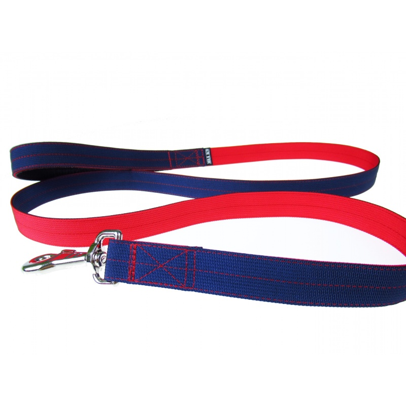 Double layer dog leash, Colour duo