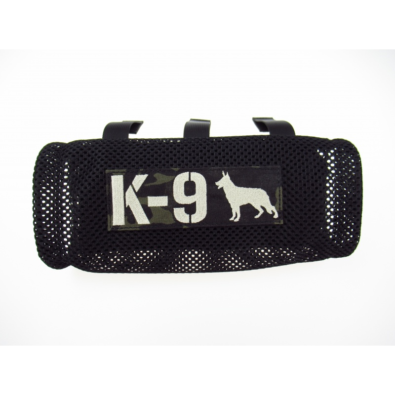 Leash holder - customized with name patch