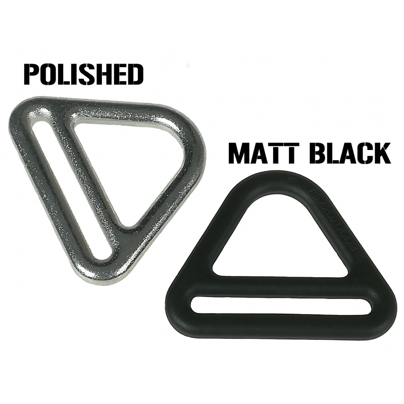 Paint V-ring black in your collar