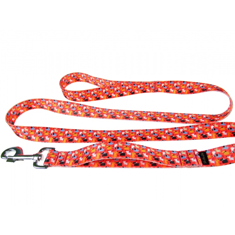 Classic leash with traffic handle 25mm wide The Chic Pet