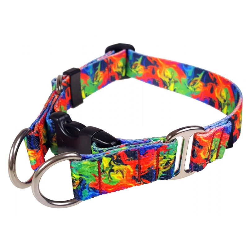 Double lock collar 25mm wide The Chic Pet
