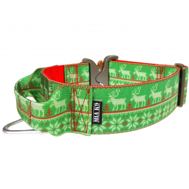 Ugly Christmas Dog Collar 50mm/2inch wide