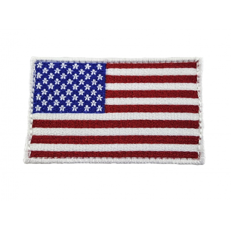 EMBROIDERED USA FLAG Patches