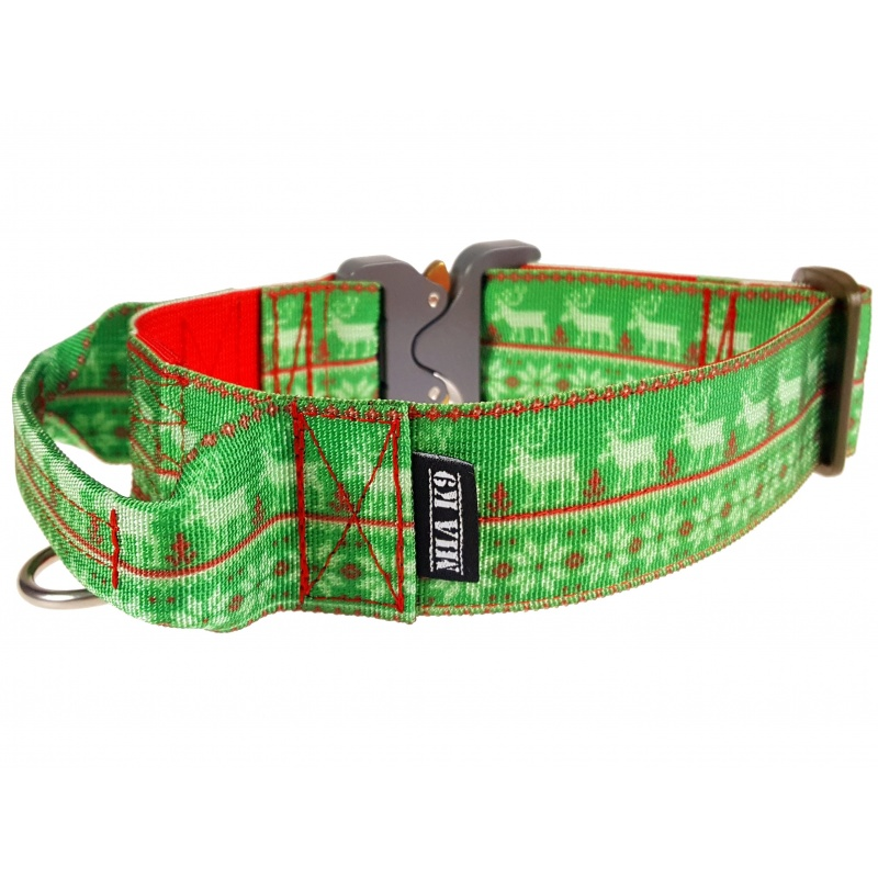 Ugly Christmas Sweater Dog Collar 40mm/1.5inch wide