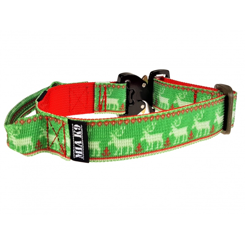 Ugly Christmas Sweater Dog Collar 25mm/1inch wide