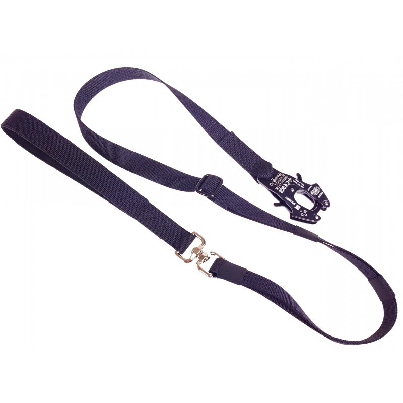 Adjustable length thick leash