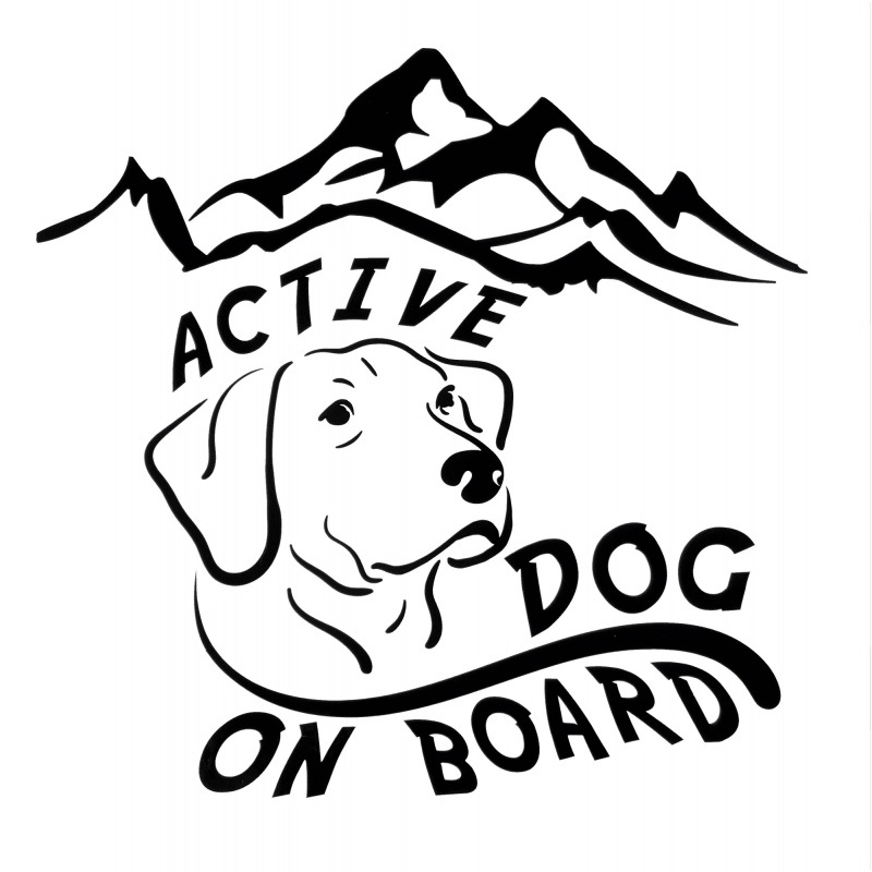 Dog On Board Decal