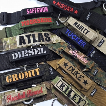 Embroidered Name Patch - product customization