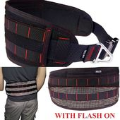 Customers like customizing, why wouldn't they?😁Our reflective range just got a new item: The Cargo Belt in reflective version! This one is customized with red stitching. Looks cool and keeps you visible after dusk.#utilitybelt #cargobelt #reflectivefabric #fandsfreedogwalking #mollebelt #cobrabuckle